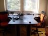 biurka z wcięciem