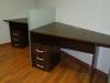 biurka z przegrodą